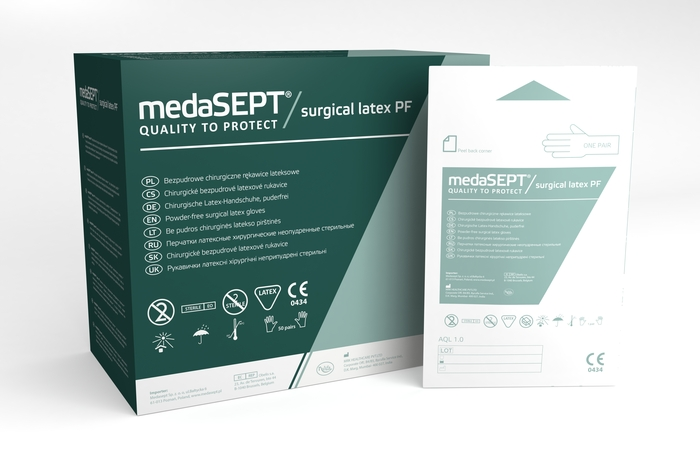 medaSEPT® surgical latex PF